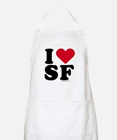 I Love San Francisco ~  BBQ Apron