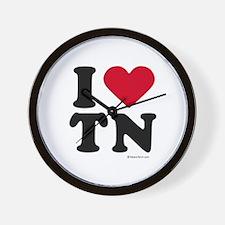 I Love Tennessee ~  Wall Clock