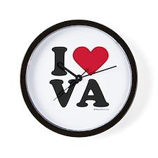 I Love Virginia ~  Wall Clock