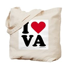 I Love Virginia ~  Tote Bag
