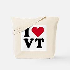 I Love Vermont ~  Tote Bag