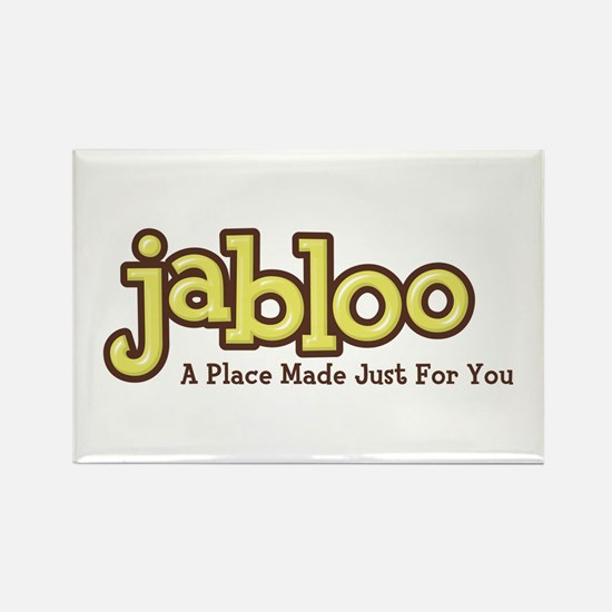 Products featuring the Jabloo Rectangle Magnet