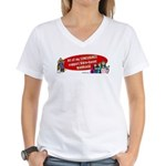 All My Concubines Women's V-Neck T-Shirt