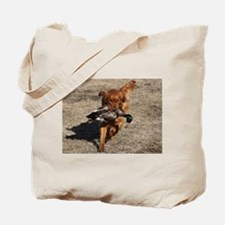 Golden Retriever Hunting Tote Bag