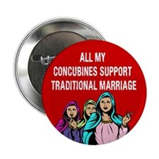 "All My Concubines 2.25"" Button (100 pack)"