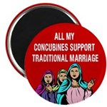 All My Concubines Magnet