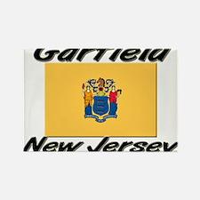 Garfield New Jersey Rectangle Magnet