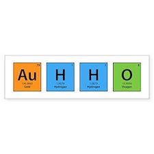 Au H2 O (Goldwater) Bumper Bumper Sticker