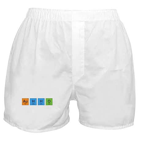 Au H2 O (Goldwater) Boxer Shorts