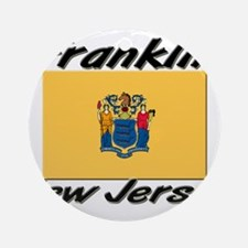 Franklin New Jersey Ornament (Round)