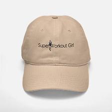 Super Workout Girl Baseball Baseball Cap