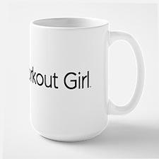 Super Workout Girl Mug