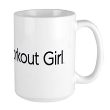TOP Super Workout Girl Mug