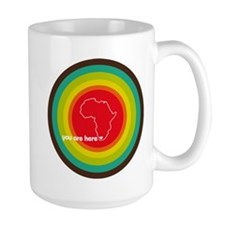 South Africa - You are here Mug