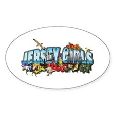 Jersey Girls Oval Decal