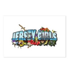 Jersey Girls Postcards A (Package of 8)