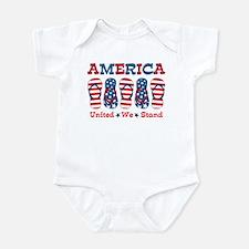 Flip Flop America Infant Bodysuit