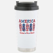 Flip Flop America Travel Mug