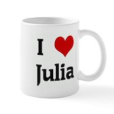 I Love Julia Mug