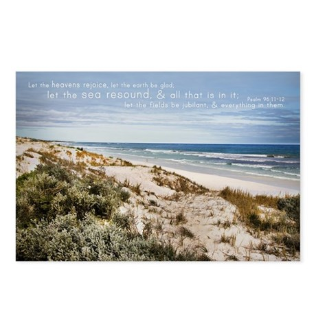 Let the sea resound Postcards (Package of 8)