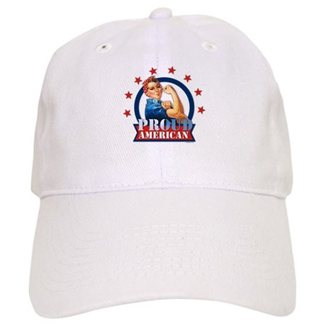 Rosie Riveter Proud American Cap