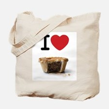 I heart Meat Pies Tote Bag