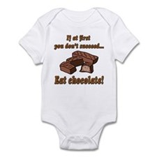 Eat Chocolate! Infant Bodysuit