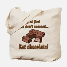 Eat Chocolate! Tote Bag