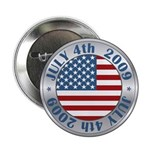 "4th of July 2009 Souvenir 2.25"" Button (10 pack)"