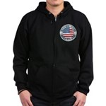 4th of July 2009 Souvenir Zip Hoodie (dark)