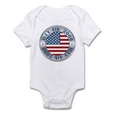 4th of July 2009 Souvenir Infant Bodysuit
