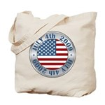 4th of July 2009 Souvenir Tote Bag
