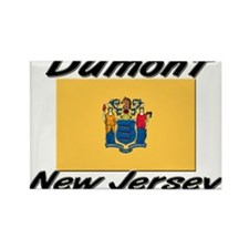Dumont New Jersey Rectangle Magnet (10 pack)