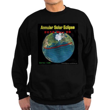 2012 Annular Solar Eclipse Sweatshirt (dark)