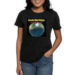 2012 Annular Solar Eclipse Women's Dark T-Shirt