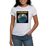 2012 Annular Solar Eclipse Women's T-Shirt