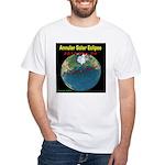 2012 Annular Solar Eclipse White T-Shirt