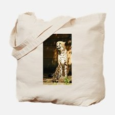 Unique Cheetah eyes Tote Bag