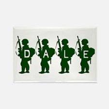 Army Men: Dale Rectangle Magnet