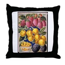 Plum First-Best Throw Pillow