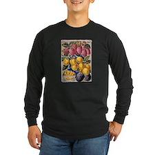 Plum First-Best Long Sleeve Dark T-Shirt