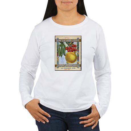 Sow Salzer's Seeds Women's Long Sleeve T-Shirt