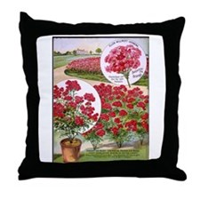 Ellen Verbena Throw Pillow