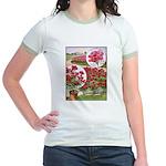Ellen Verbena Jr. Ringer T-Shirt