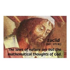 Euclid: Math and Philosophy Postcards (Package of