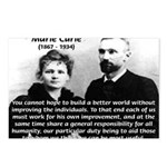 Humanity Marie Curie Postcards (Package of 8)