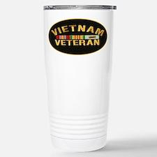 Vietnam Veteran Stainless Steel Travel Mug