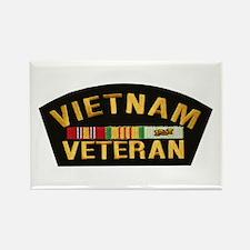 Vietnam Veteran Rectangle Magnet (10 pack)