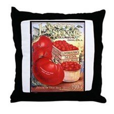 Livingston Seed Co Throw Pillow