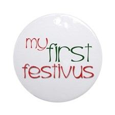 My 1st Festivus Ornament (Round)